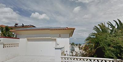 Instalación fotovoltaica residencial Alfaz del Pi