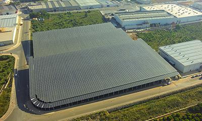 instalacion fotovoltaica sobre cubierta onda