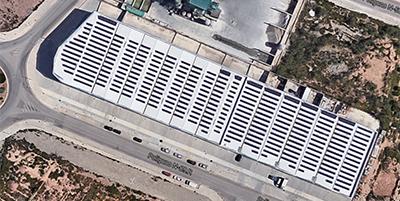 Instalación fotovoltaica Naves Bétera